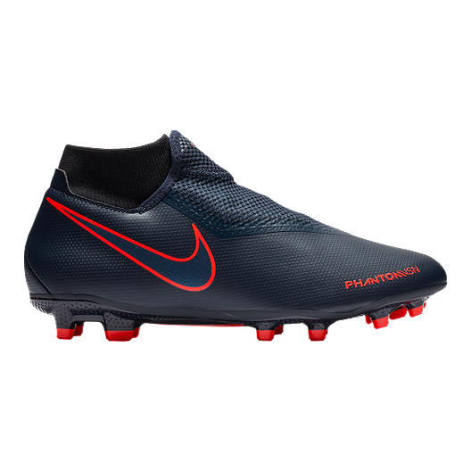 Nike Unisex Phantom VSN Academy DF Multi Ground Shoes - Dark Blue ...