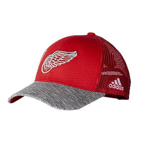 new product f5551 a4e06 Detroit Red Wings adidas Men s Start Of Season Hat