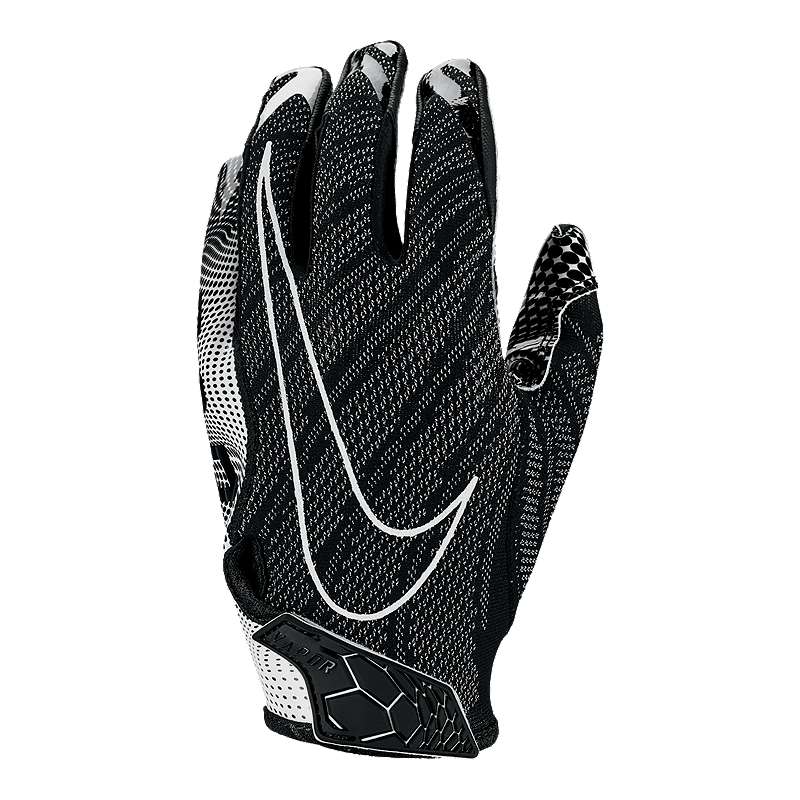 cf23c97c77c67 Nike Vapor Knit 3.0 Football Glove - Black Black White