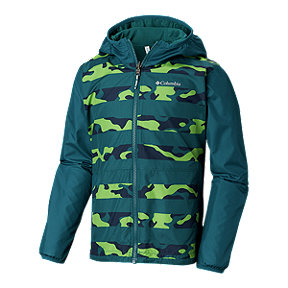Columbia Boys' Pixel Grabber Reversible Jacket