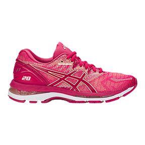 fa4eeab24be ASICS Women s GEL-Nimbus 20 Running Shoes - Bright Rose
