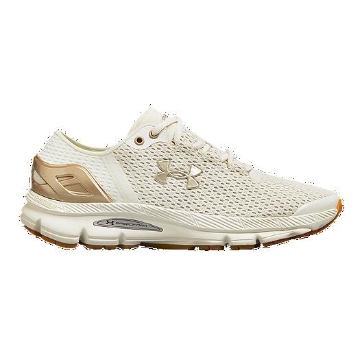 wholesale dealer 449f4 64865 Under Armour Women's Speedform Intake 2 Running Shoes - Ivory/Grey