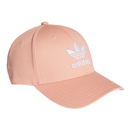 344a94582 adidas Originals Women's Classic Trefoil Hat - Dust Pink