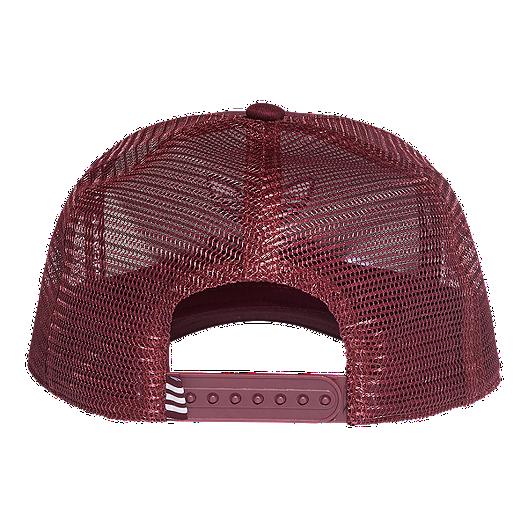 a4a2c73fb6b3c adidas Originals Women s Trefoil Trucker Hat - Maroon. (0). View Description