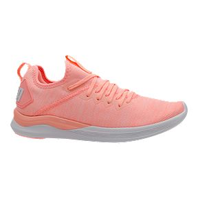 39871d0d9 PUMA Women s Ignite Flash evoKNIT Shoes - Peach White