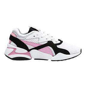 5134c59c7 PUMA Women s Nova 90 S Bloc Shoes - Puma White Pale Pink