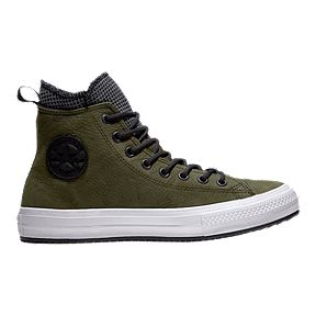 f2442f8edec4 Converse Men s Chuck Taylor Waterproof Hi Boots - Green Black