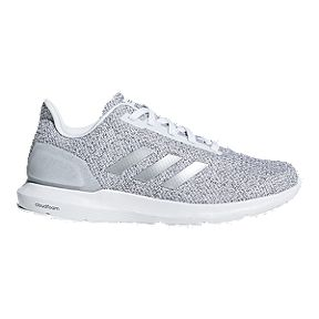 adidas Women s Cosmic 2 SL Running Shoes - White Silver d81ff5540