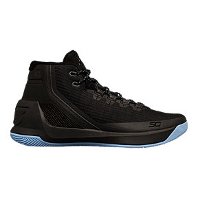 Under Armour Kid's Curry 3 Grade School Basketball Shoes - Black