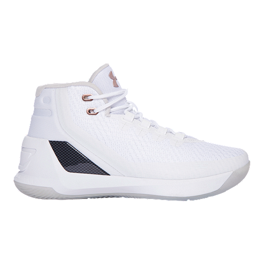 ac24666f49ed Under Armour Kids  Curry 3 Grade School Basketball Shoes - White - WHITE