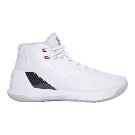 a5cca2f29aae Under Armour Kids  Curry 3 Grade School Basketball Shoes - White ...