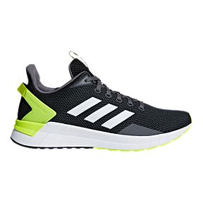57e05f66470 adidas Men s Questar Ride Running Shoes - Black White Yellow