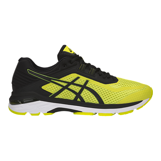 new product e4377 5af71 ASICS Men s GT 2000 6 Running Shoes - Yellow Black White   Sport Chek