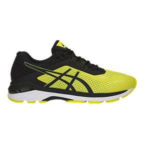 competitive price 8ad9c f017b ASICS Men s GT 2000 6 Running Shoes - Yellow Black White