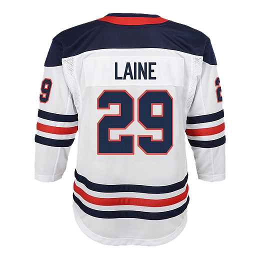 best website bc24c dc015 Youth Winnipeg Jets Patrik Laine Heritage Premier Jersey