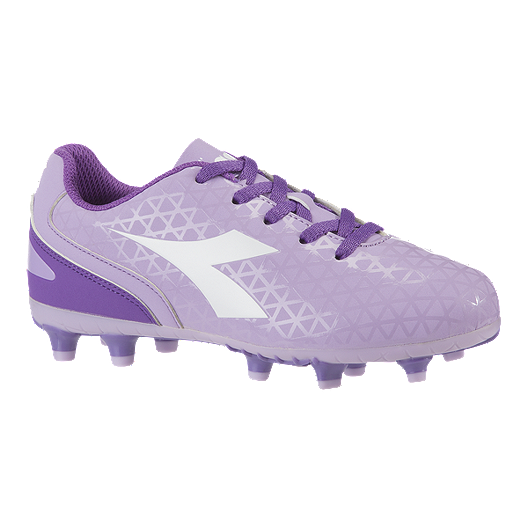980a1d8fe1 Diadora Girls' Preschool Blaze Firm Ground Shoes - Lavender/Purple