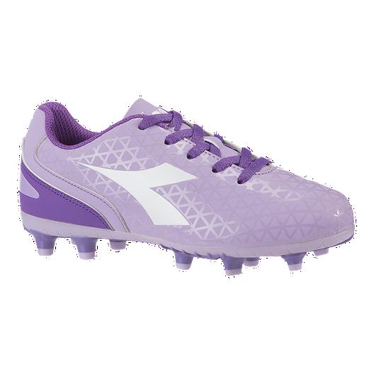 df6133e1 Diadora Girls' Preschool Blaze Firm Ground Shoes - Lavender/Purple