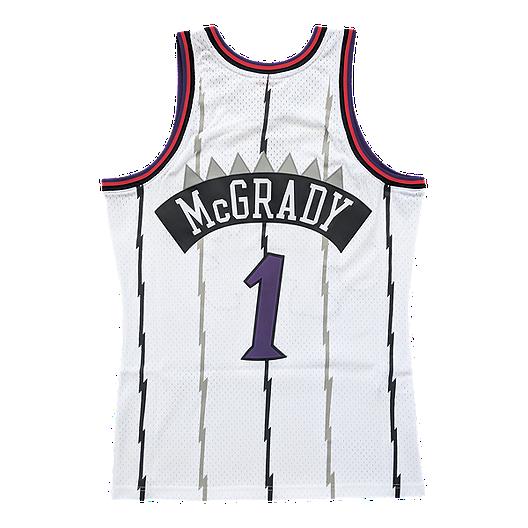 0d233ca8deb Toronto Raptors Mitchell and Ness Men s McGrady Replica Away Jersey ...