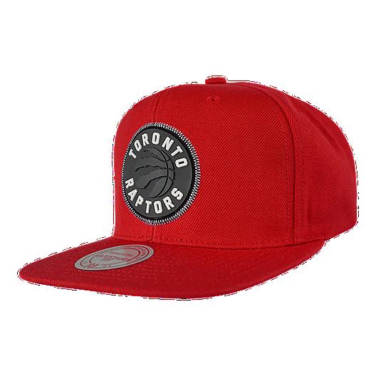 bf18829e405522 Toronto Raptors Mitchell and Ness Zig Zag Snapback Cap | Sport Chek