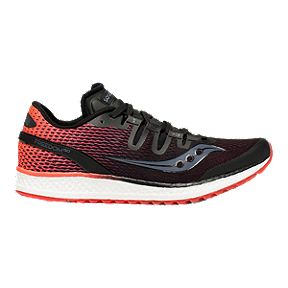 5455face9bea Saucony Women s Everun Freedom ISO Running Shoes - Black Vizi Red