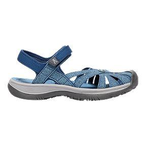 0c6de613fe6 Keen Women s Rose Sandal - Blue Opal Blue