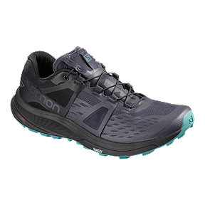 Salomon Women's Ultra Pro Trail Running Shoes - Black/Blue