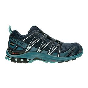 los angeles cdcbd e28be Salomon Women s XA Pro 3D GTX Trail Running Shoes - Navy Blue