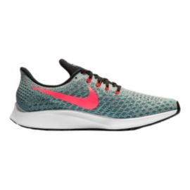 Nike Men's Air Zoom Pegasus 35 Running Shoes - Grey/Black
