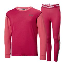 3d674232 image of Helly Hansen Little Kids' Lifa Merino Set - Red with sku:332702148
