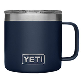 YETI Rambler 14 oz Mug with Lid - Navy