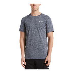 4c8c65eda9 Nike Men's Heather Short Sleeve Hydroguard