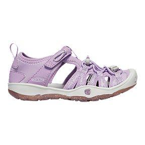 e7ba1486e8b4 Keen Girls  Moxie Pre-School Sandals - Lupine Vapor
