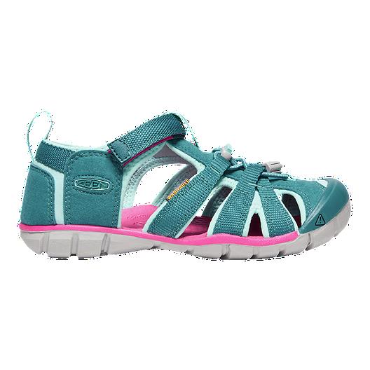 Keen Girls  Seacamp II CNX Sandals - Deep Lagoon Bright Pink