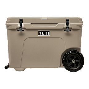 YETI Tundra Haul Wheeled Cooler - Tan