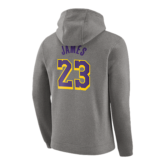 super popular 107d0 58a8e LA Lakers Nike Men's LeBron James Essential Hoody