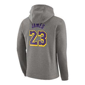 2ae9a88a LA Lakers Nike Men's LeBron James Essential Hoody