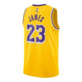 LA Lakers Nike Men s LeBron James Icon Swingman Jersey  a64f944a5