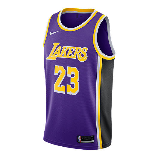 2b8bce3a6cc5a5 LA Lakers Nike Men's LeBron James Statement Swingman Jersey | Sport Chek