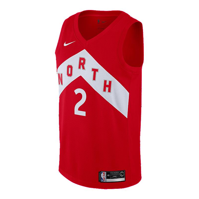 6d8ba8320 Toronto Raptors Men s Nike NBA Earned Edition Leonard Swingman Jersey