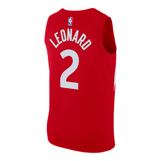 new product 23282 0564e Toronto Raptors Men's Nike NBA Earned Edition Leonard ...