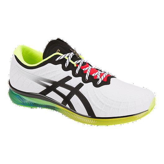 04ee2c0005 ASICS Men's Gel Quantum Infinity Running Shoes - White/Black | Sport ...