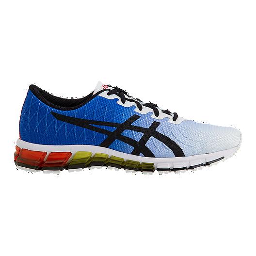 d953e7b1ac7b ASICS Men s Gel Quantum 180 4 Running Shoes - White Black