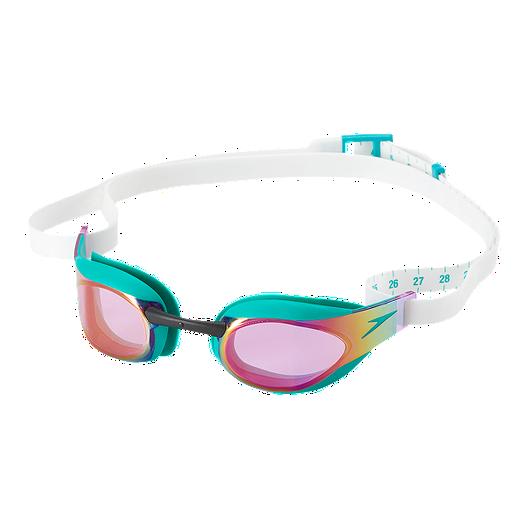 choose best high quality yet not vulgar Speedo FastSkin3 Elite Mirrored Swim Goggles - Jewel Green