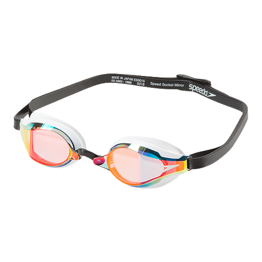 hete producten outlet te koop verkoop Speedo Speed Socket 2.0 Mirrored Swim Goggles - Vapor