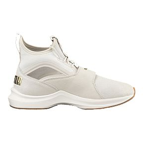 PUMA Women s Phenom Shoes - Birch Whisper White 528315658