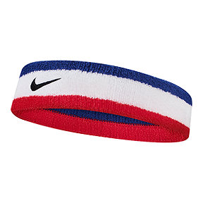 Nike Swoosh Headband - Habanero Red/Black