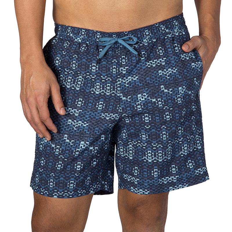Saxx Underwear Cannonball 2N1 Regular 7 Mens Swim Shorts Ballpark Pouch Black Small