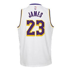 8b0088a1634 Youth Los Angeles Lakers LeBron James Association Jersey