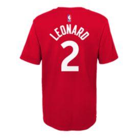 Toronto Raptors Nike Youth Kawhi Leonard Short Sleeve Player T-Shirt ... e212eaace6e1