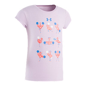 721d1206 Under Armour Toddler Girls' Flamingo Cheer Cotton Tee